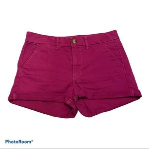 AMERICAN EAGLE Women's Pink High Rise Short Size 6